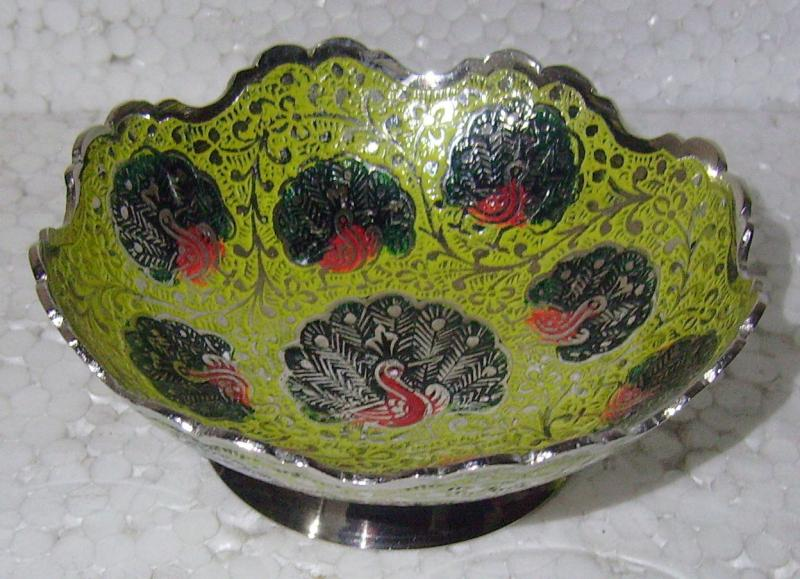 Brass Fruit/Dry Fruit Bowl